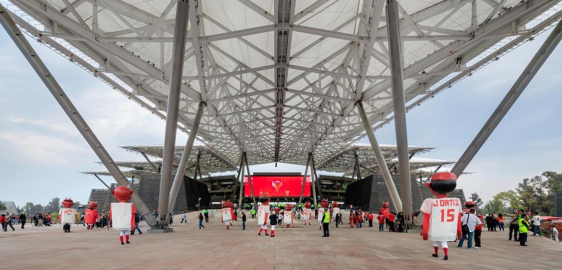 Photographer Rafael Gamo: Diablos Rojos Baseball Stadium by FGP Atelier + Taller ADG