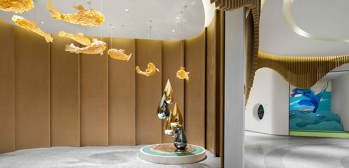 Center Mansion · Carp Joy Club by ZESTART. Photography by Huang Shuying, Li Zifeng