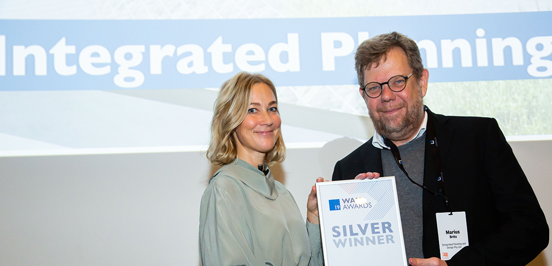 Integrated Planning and Design take the Silver awards in the Future Projects - Urban Design category
