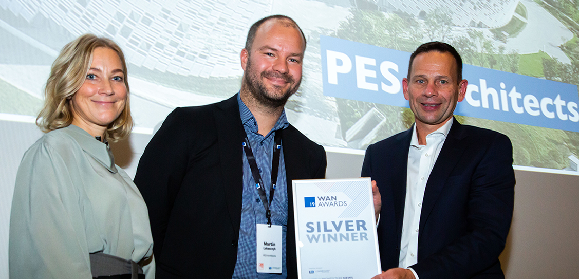 Another win for PES-Architects, this time a Silver Award in the Facade category