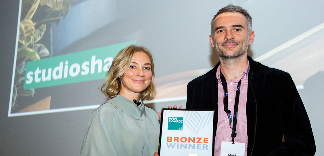The Bronze Award in the Emerging Interiors Practice of the Year goes to Studioshaw