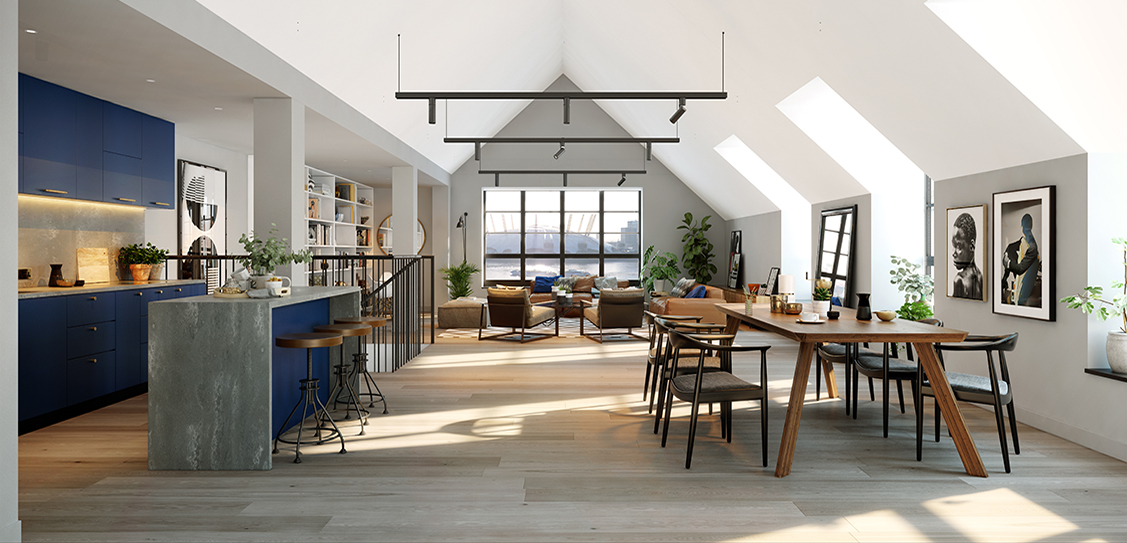 The Lofts at Goodluck Hope, Ballymore