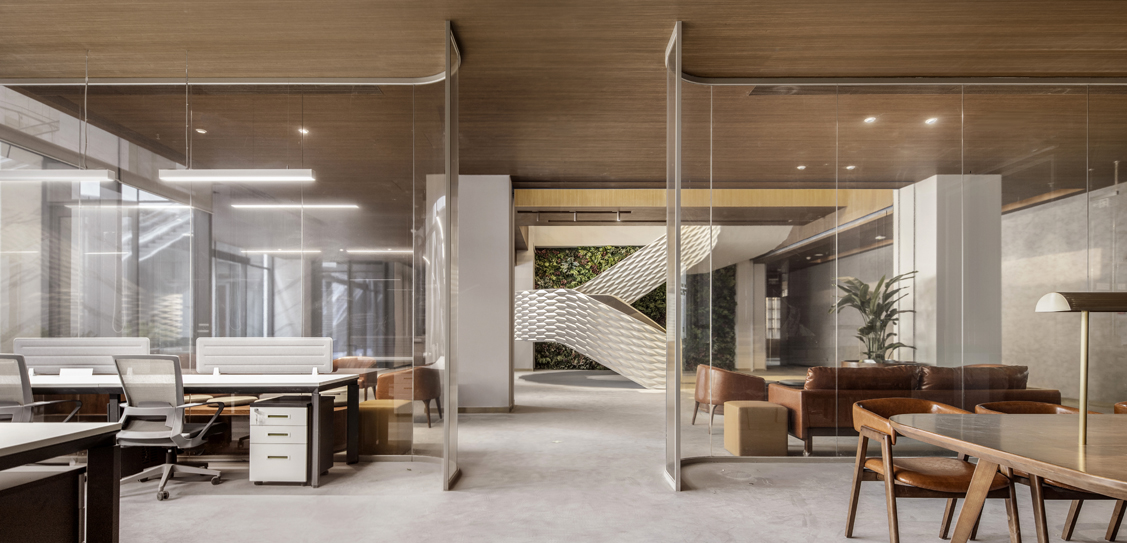 Fintech Office by WIT Design & Research