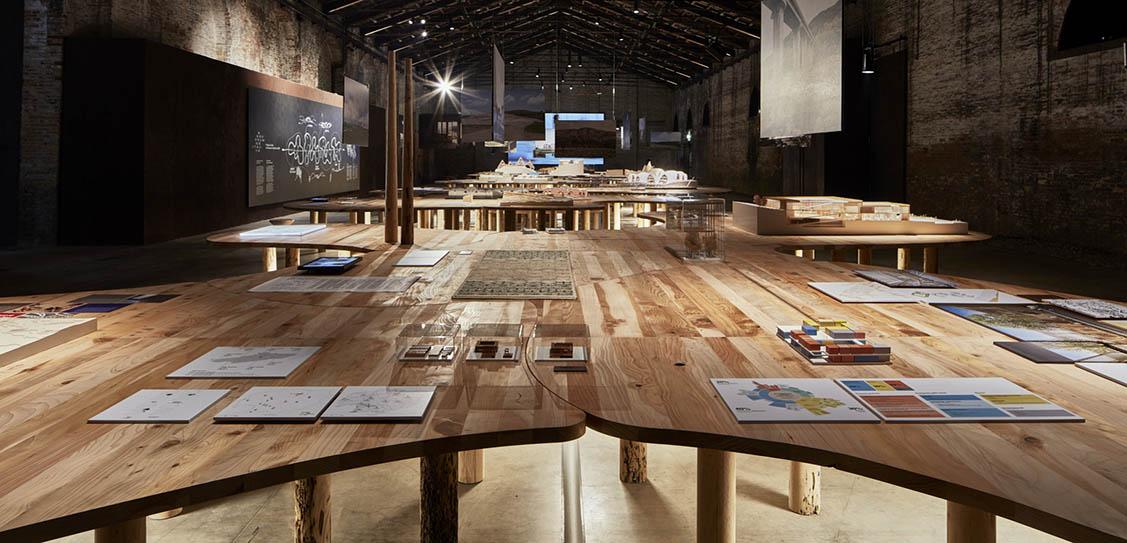 Arcipelago Italia Exhibition by Mario Cucinella Architects