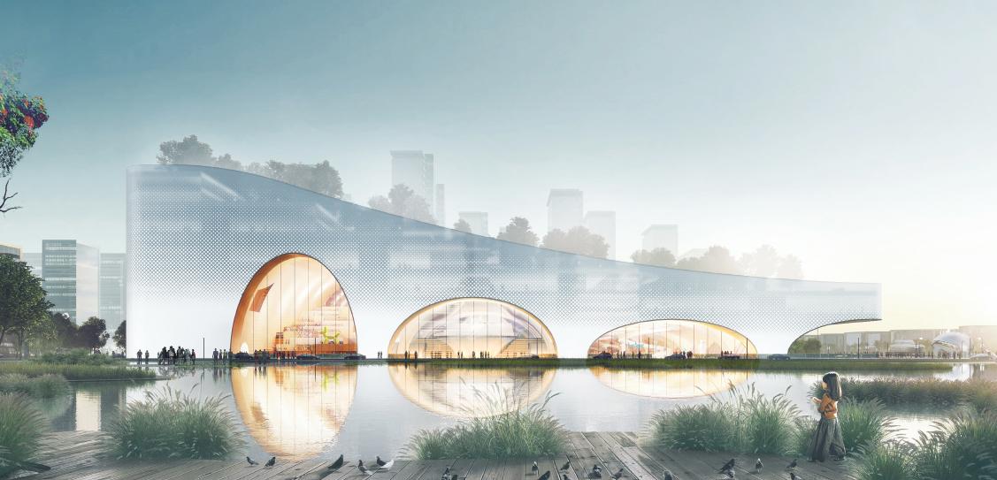 Hengqin Culture & Art Complex - SZAD/Atelier Aperion/Yunchao Xu