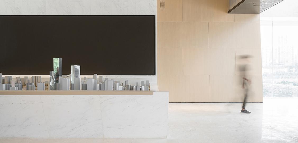 Vanke Emerald Metropolis Sales Center by ENJOY DESIGN, Images: ©Xiong Huan & Wang Xiao & Lin Lv & Zhou Jianan