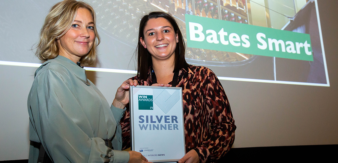 The Silver award goes for Bates Smart in the Sports Stadiums & Sports Centres category