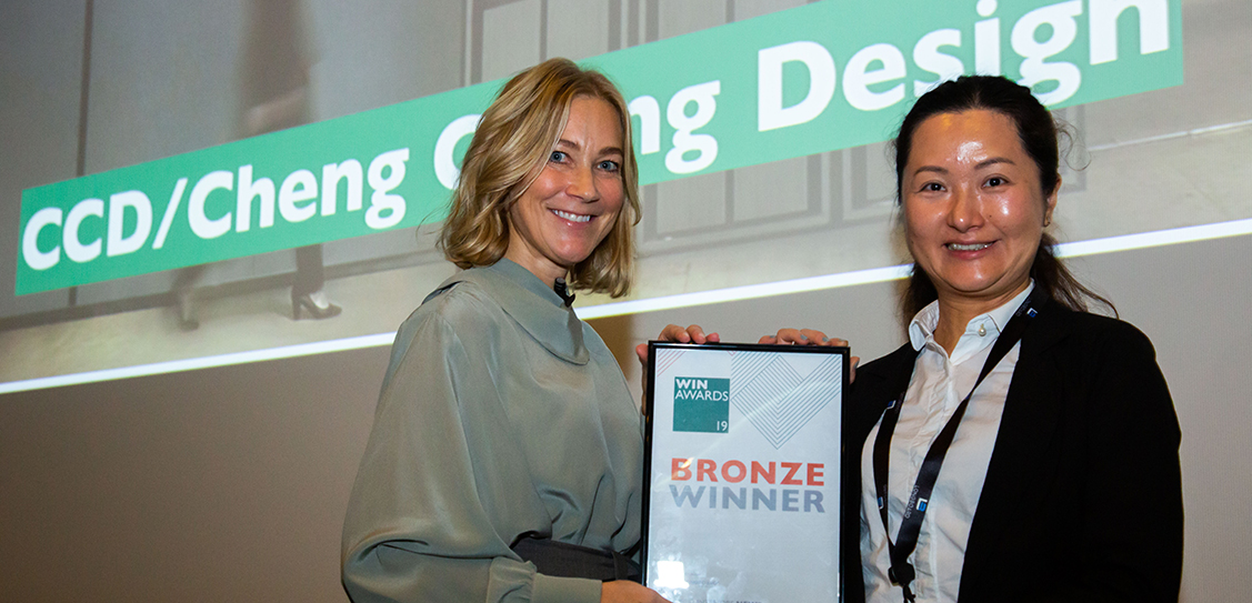 CCD/Cheng Chung Design (HK) win the Bronze award in the Residential Developments category