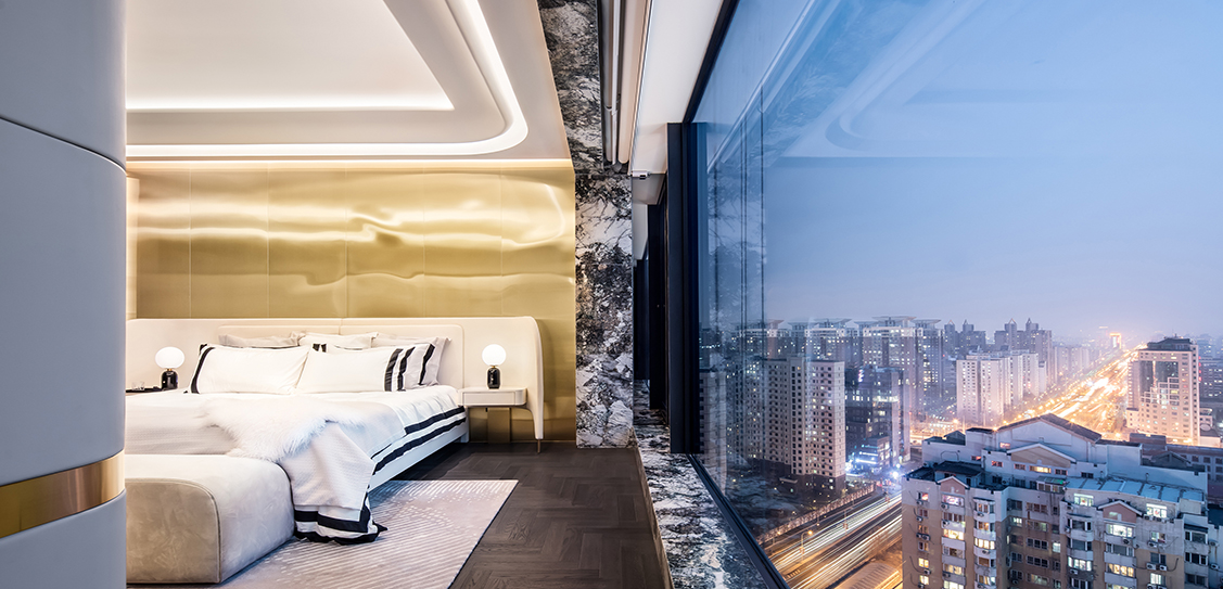 Beijing Vanke Metropolis 79 • Super Player by T.K. CHU DESIGN LTD.
