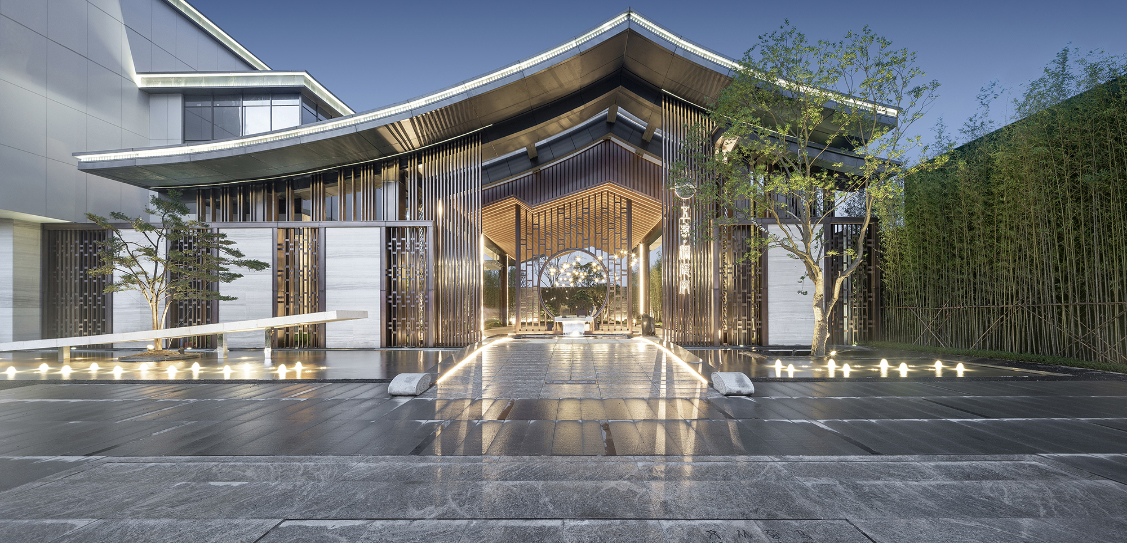 Shimao Wuxiang Lantingfu Sales Center - Boarch Design International