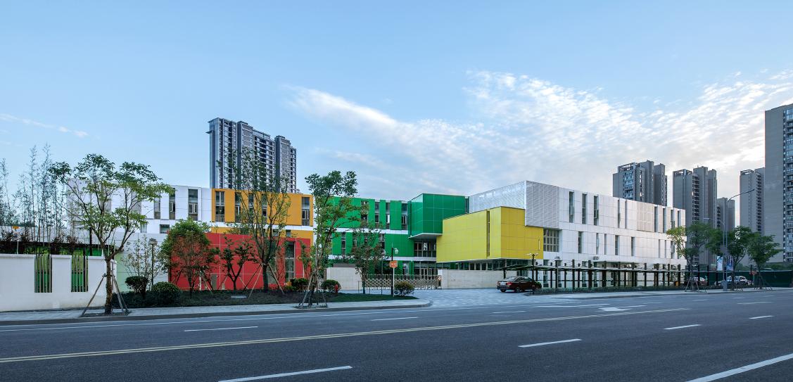 Colourful Childhood:Wujun Kindergarten - Tus-Design Group Co., Ltd