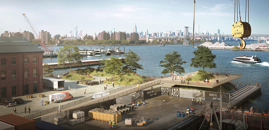 Brooklyn Navy Yard Master Plan - WXY architecture + urban design