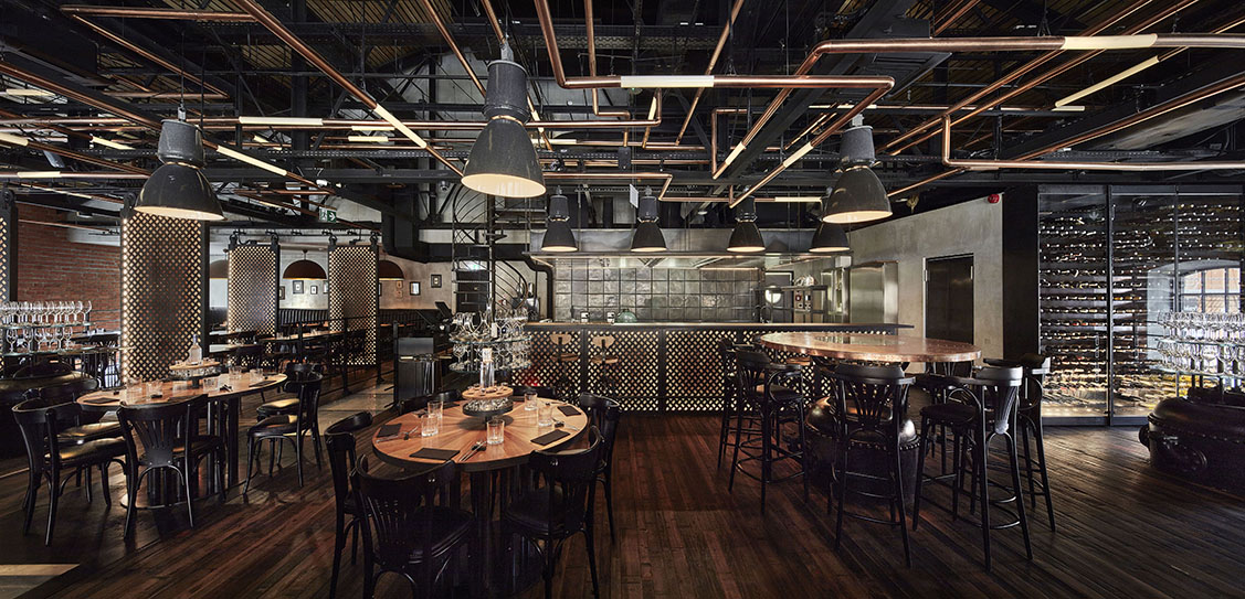 ZONI Restaurant and vodka bar - NIZIO DESIGN INTERNATIONAL