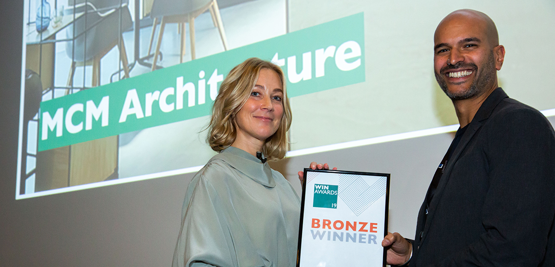 MCM Architecture win the Bronze award in the Corporate Offices  (over 5000sm) category