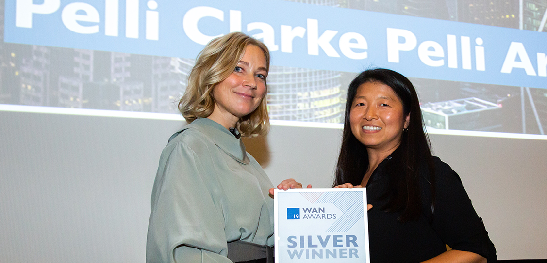 Pelli Clarke Pelli Architects take Silver for the Tall Buildings Category