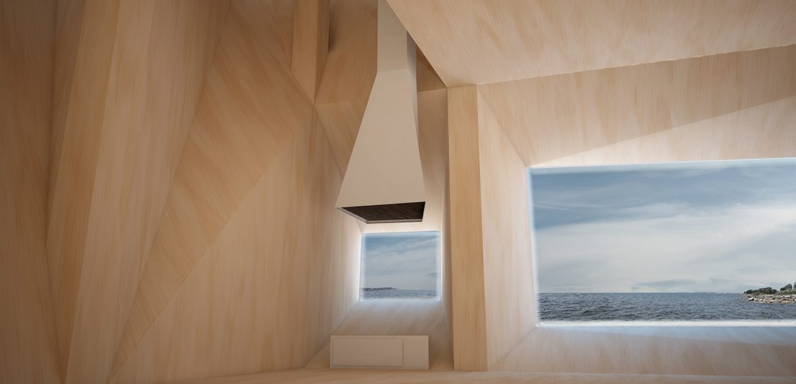 Periscope (Siracusa, Italy, 2012), a house overlooking the Mediterranean Sea. Project by AION (Aleksandra Jaeschke and Andrea Di Stefano).