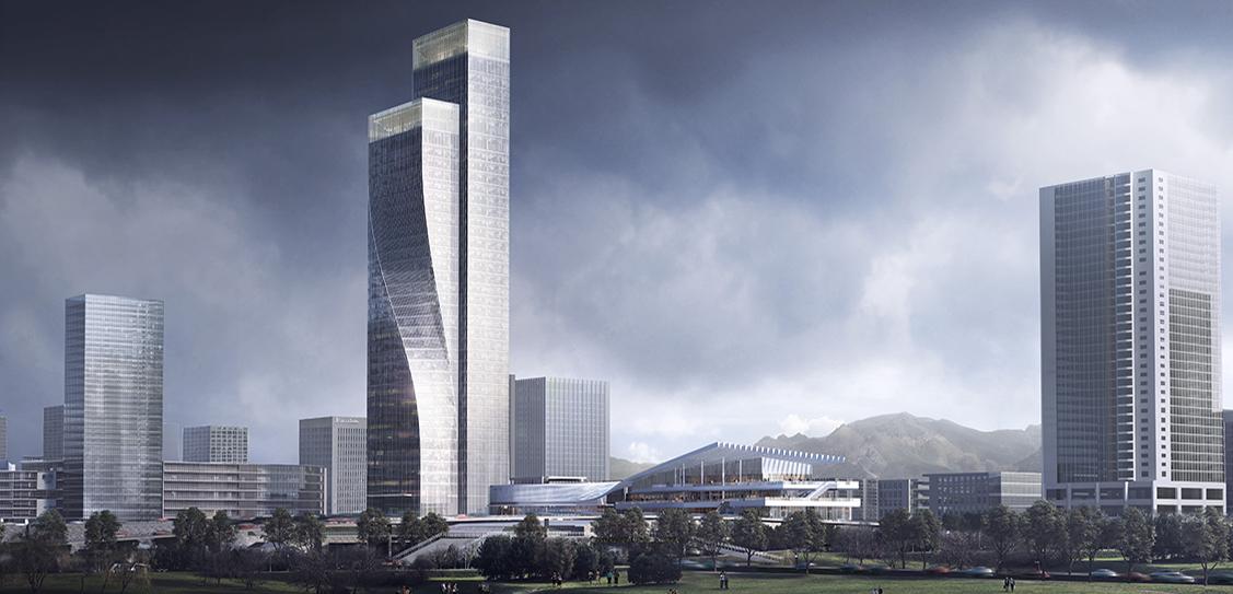 Chongqing Gaoke Group Ltd Office Project by Aedas