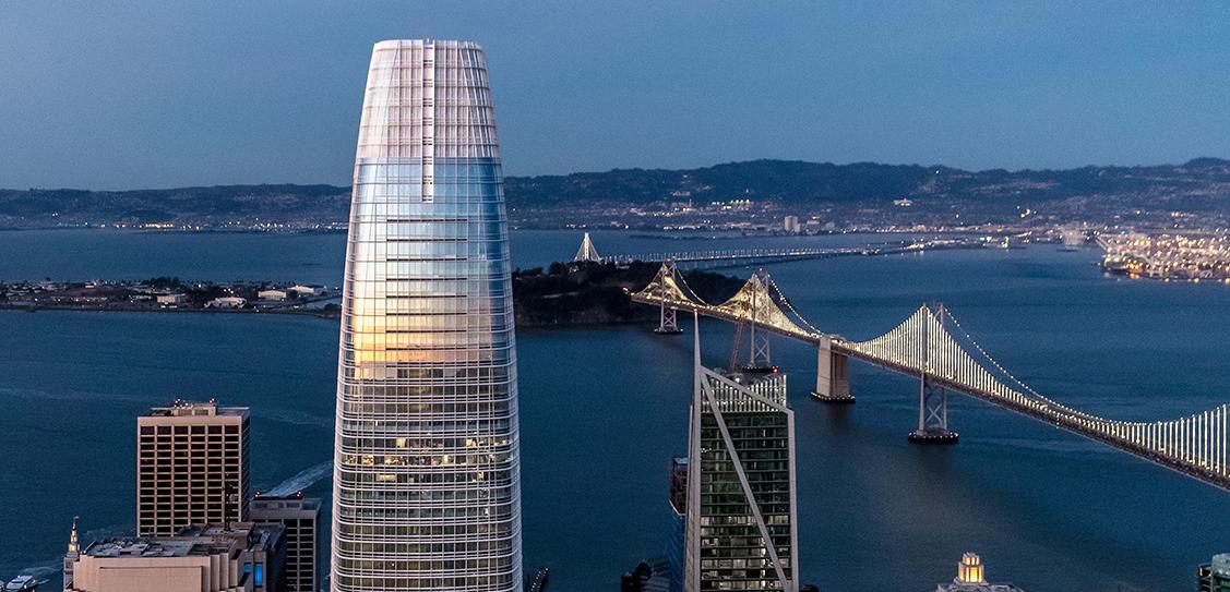 Salesforce Tower by Pelli Clarke Pelli Architects