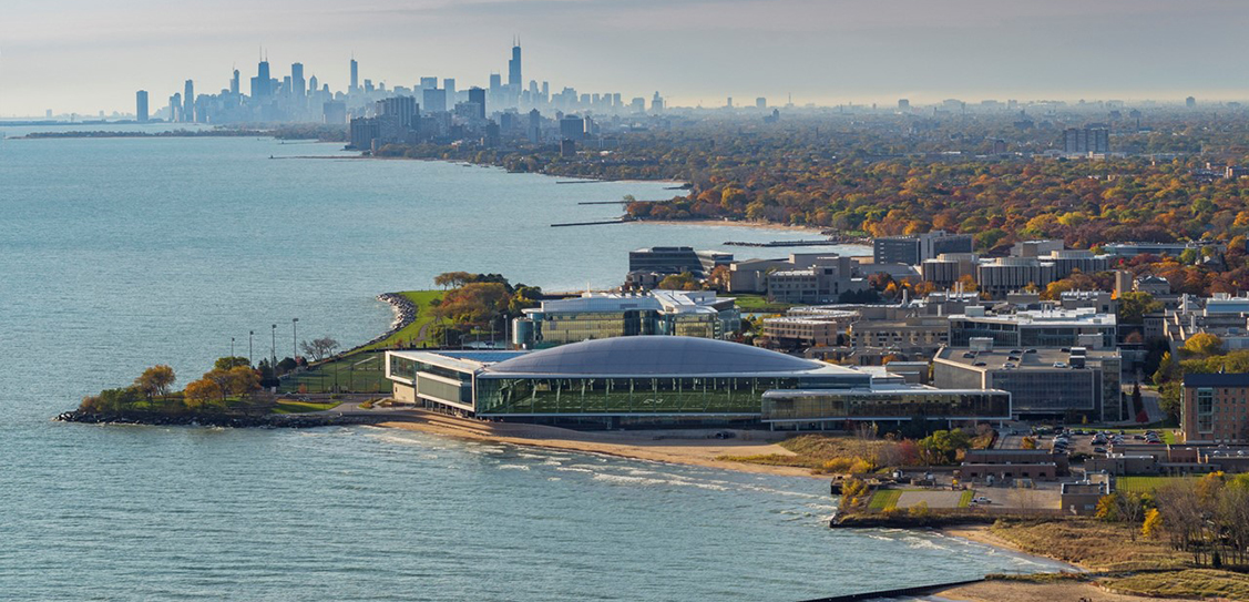 Northwestern University Ryan/Walter Athletics Center by Perkins+Will Images: James Steinkamp
