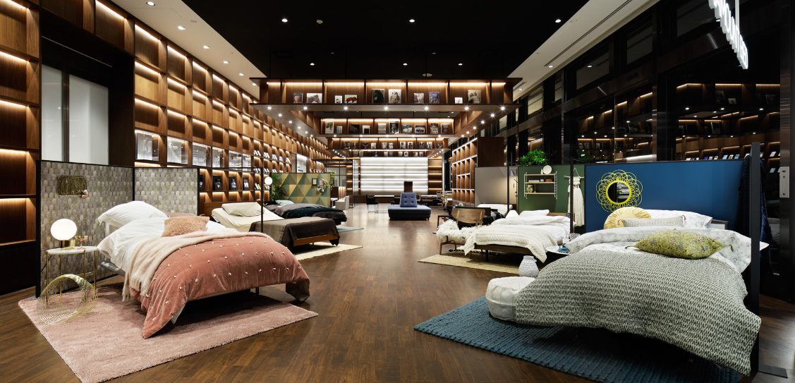 Sleep Gallery Tokyo by Paramount Bed - Interior Design and installation
