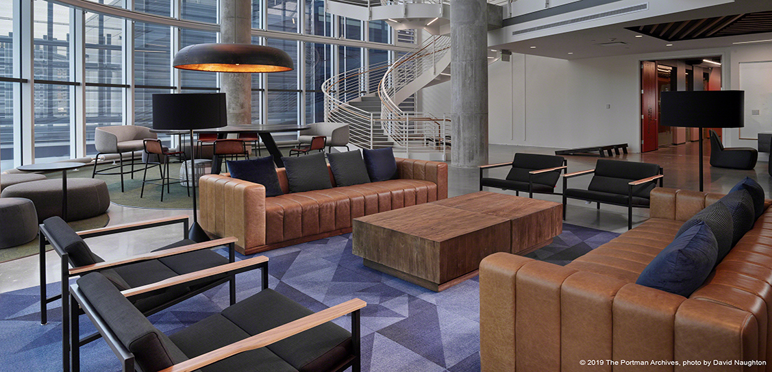 Coda – Multiexperential Office Space by Portman Architects