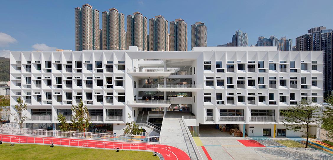 French International School of Hong Kong - Henning Larsen