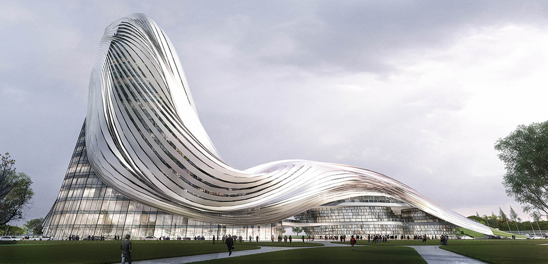 The Wave - Yanghe Headquarters - CROX