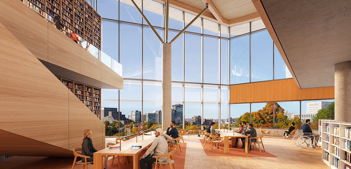 All renderings by Diamond Schmitt Architects