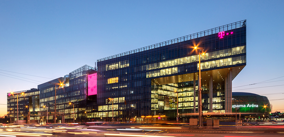 NEW HEADQUARTERS OF MAGYAR TELEKOM AND T-SYSTEMS HUNGARY by TIBA Architects