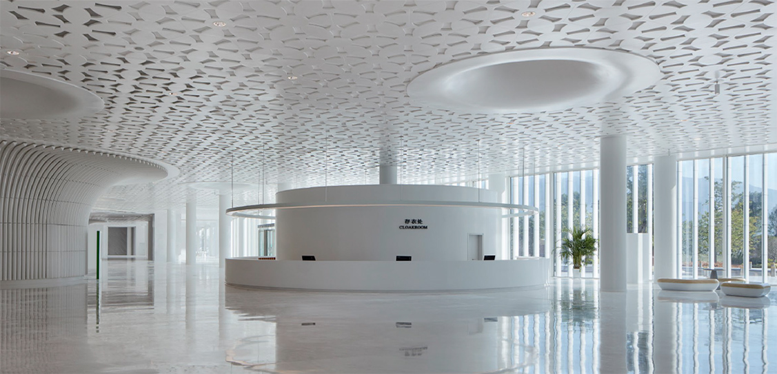 Fuzhou Strait Culture and Art Centre by PES-Architects. Photography by Marc Goodwin