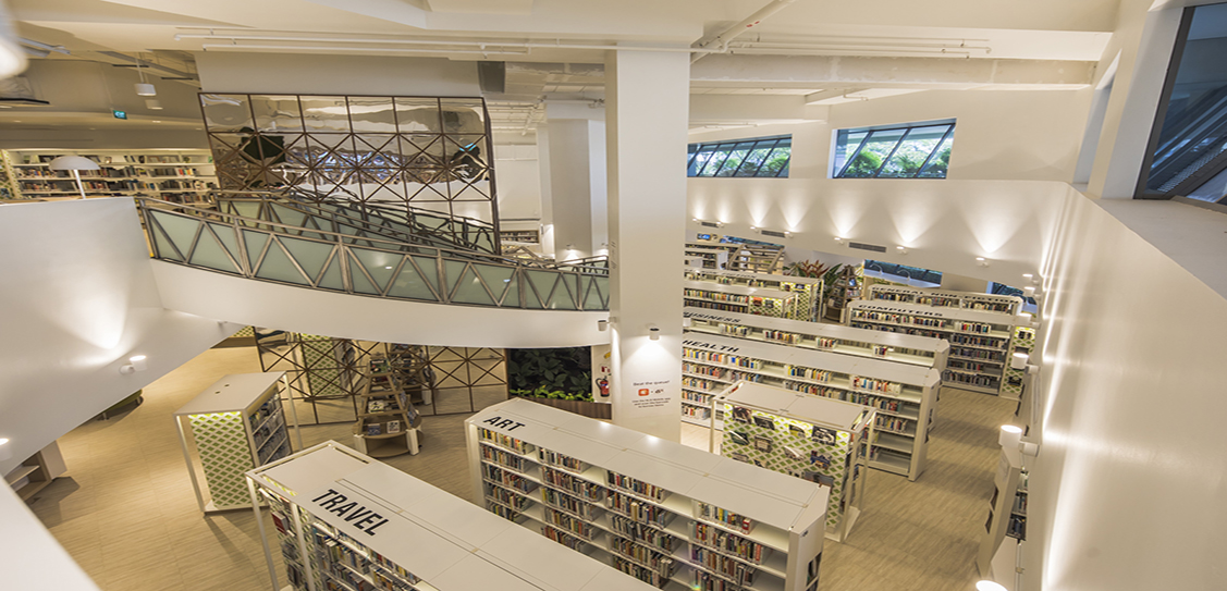 Bedok Public Library - ONG&ONG