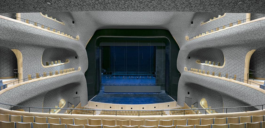 Fuzhou SCAC, Opera Hall - PES-Architects, Photography by Marc Goodwin