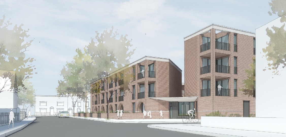 FBM Architects has secured planning consent for a 32-home car-free scheme in East London. Picture: FBM Architects