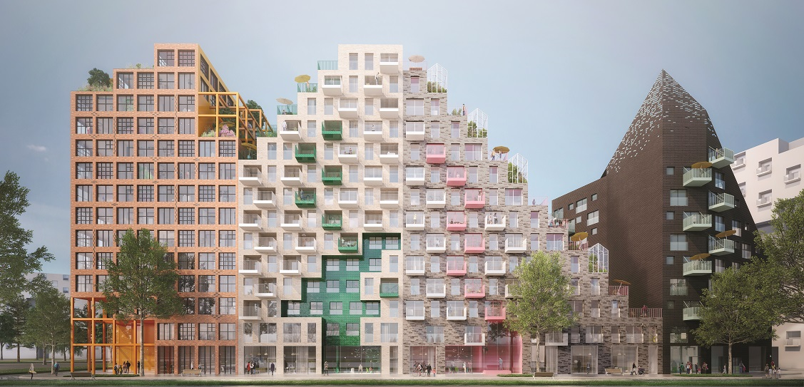 Manuelle Gautrand is developing the Hyde Park scheme in Amsterdam. Picture: Romain Ghomari