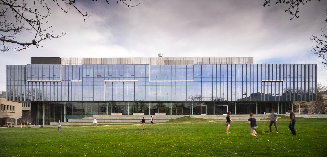 Bohlin Cywinski Jackson designed the CoorsTek Center. Picture: Nic Lehoux