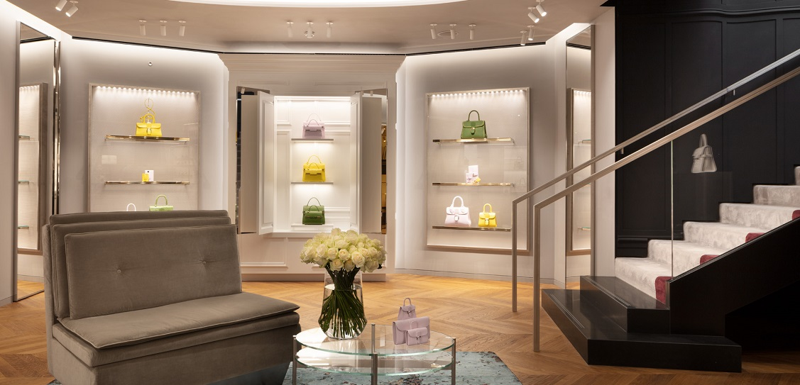 Vudafieri-Saverino Partners designed Delvaux's New Bond Street store. Picture: Santi Caleca