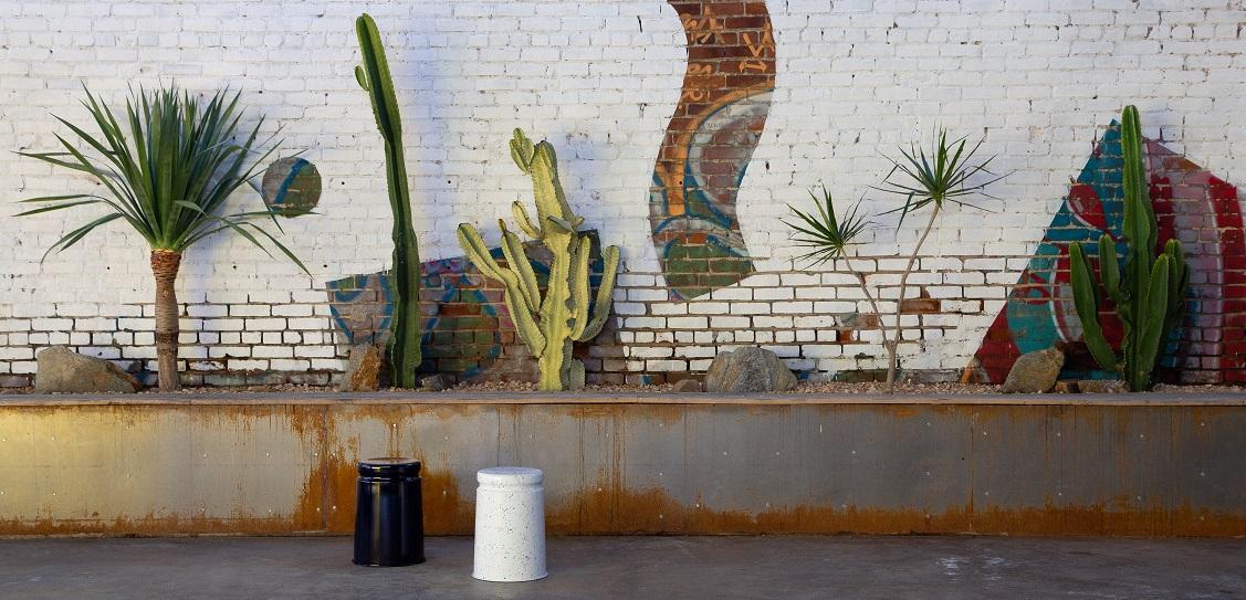 Confetti Courtyard at design brand Hem's debut US showroom. Picture: Lauren Moore