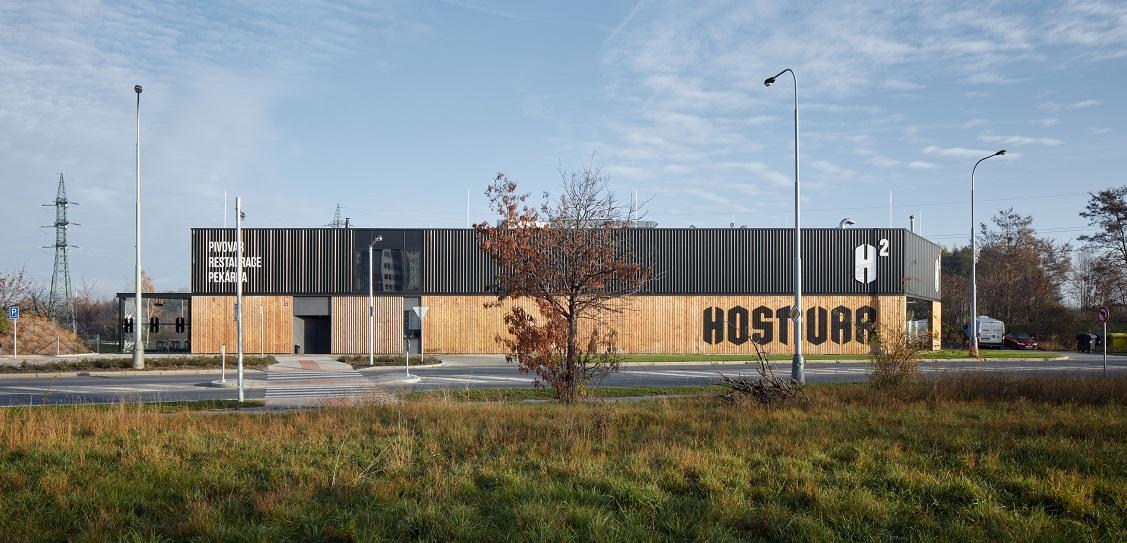 ADR designed Hostivar H2 brewery and restaurant. Picture: Jakub Skokan and Martin Tůma / BoysPlayNice