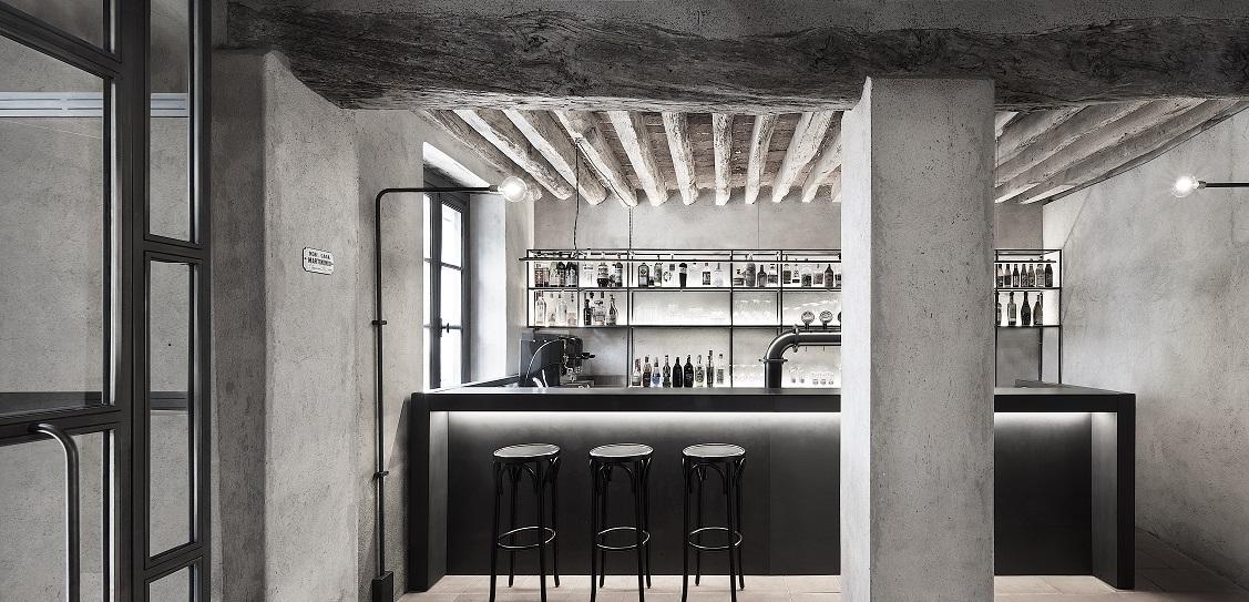 Studio Mabb designed La Ganea restaurant. Picture: Carola Merello