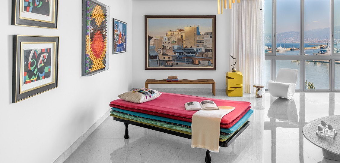 Askdeco created an eclectic design at One Oak 5A2. Picture: Alex Jeffries