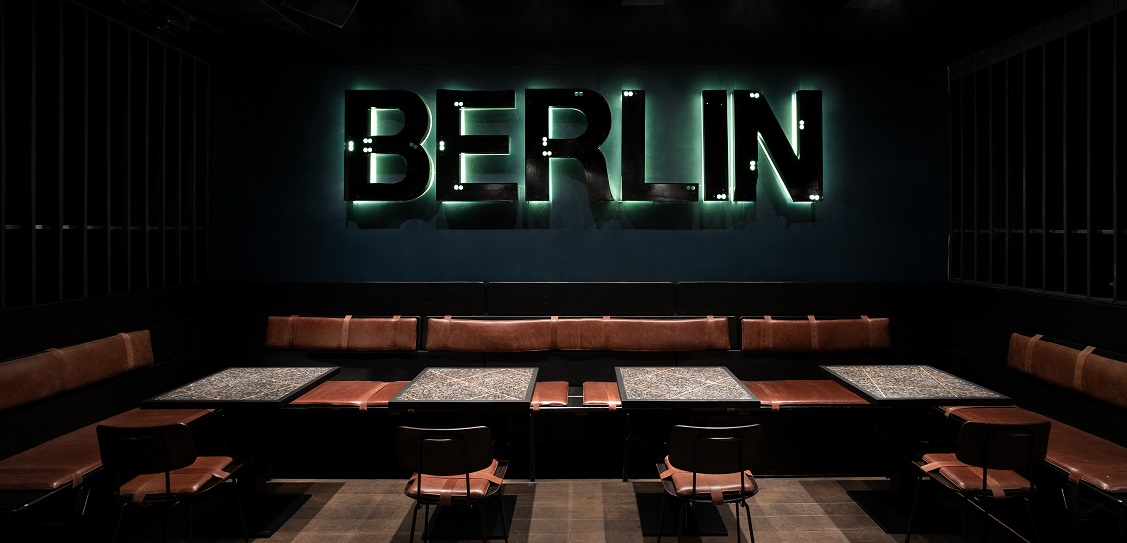 Thilo Reich designed Berlin Bar in Moscow. Picture: Ivan Erofeev