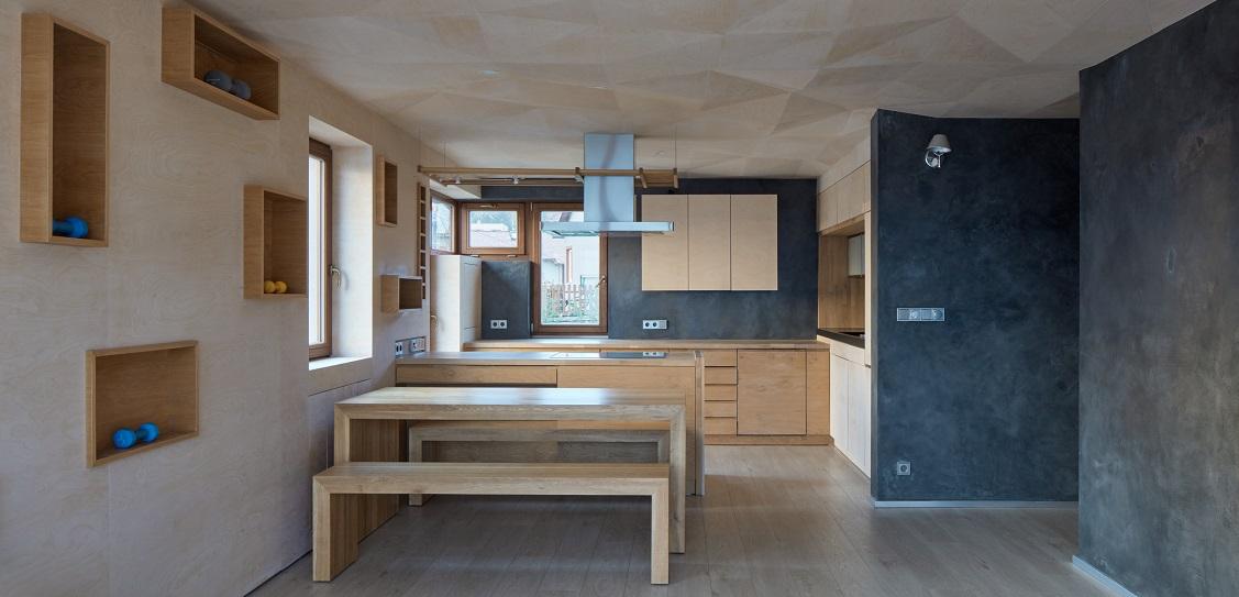 Architect Štěpán Havlík designed this Czech apartment. Picture: Jakub Skokan, Martin Tůma / BoysPlayNice