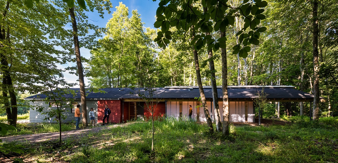 Bohlin Cywinski Jackson created High Meadow Studio. Picture: Christian Phillips