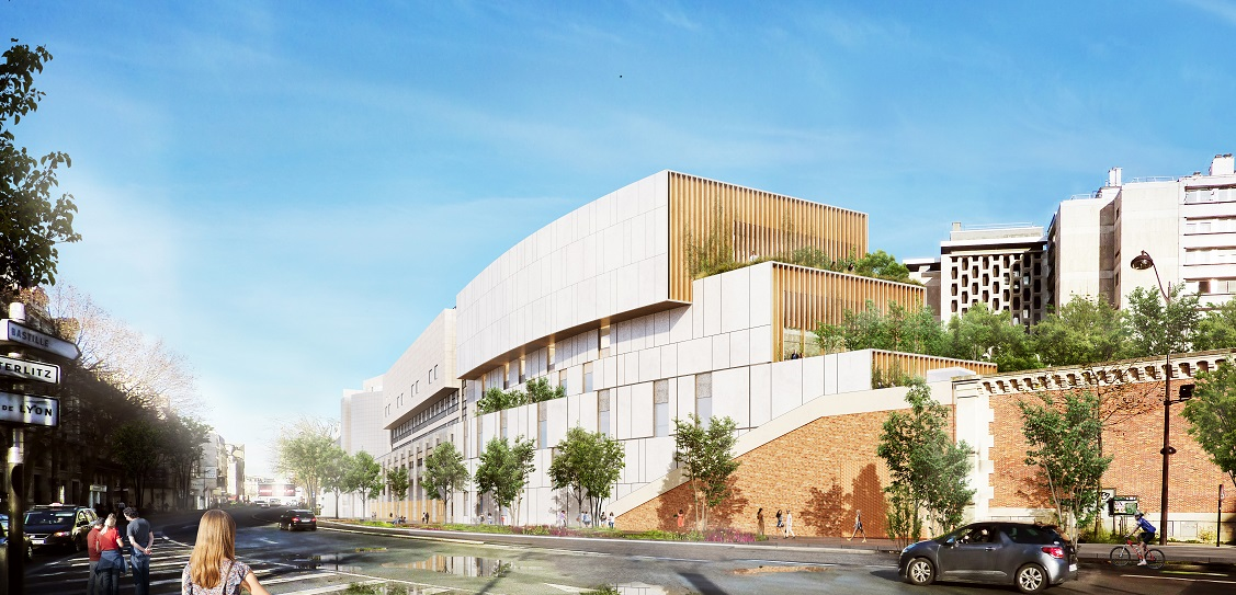 Henning Larsen has designed the expanded French Opéra Bastille. Picture: Henning Larsen