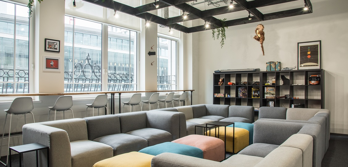 CCWS Interiors transformed Space Ape's HQ. Picture: CCWS Interiors