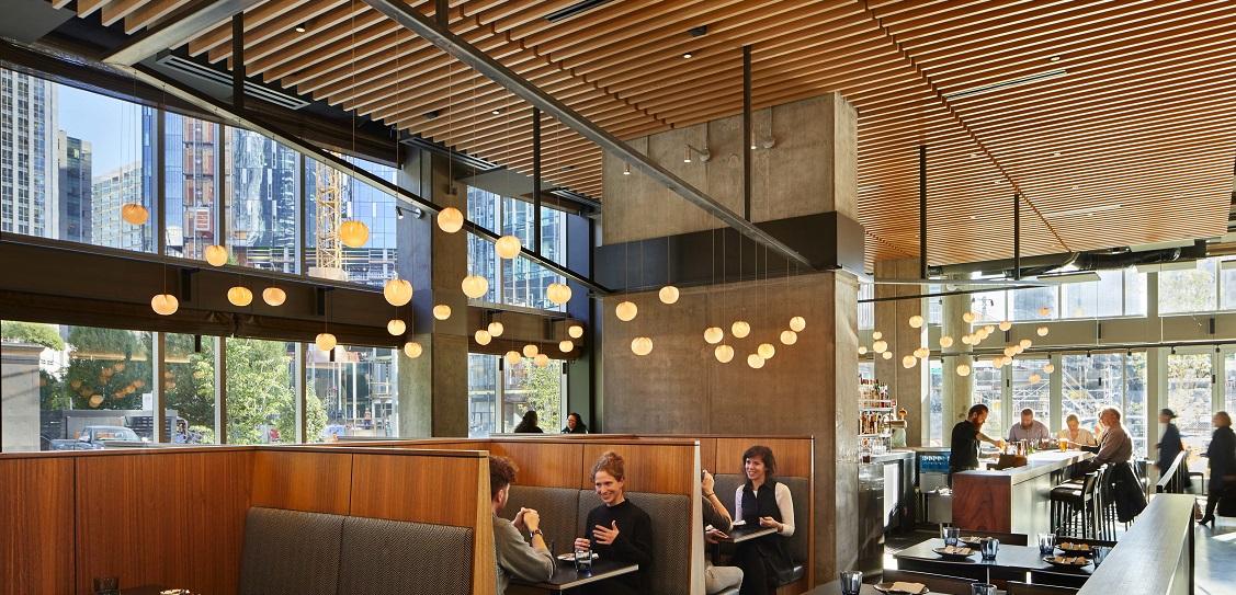 SkB Architects designed Wild Ginger in Denny Triangle, Seattle. Picture: Benjamin Benschneider