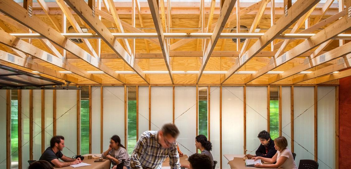 Bohlin Cywinski Jackson created High Meadow Studio. Picture: Bohlin Cywinski Jackson