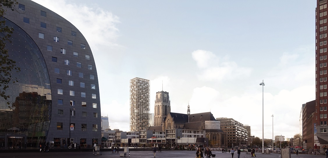 ODA has designed the Post Rotterdam project. Picture: Forbes Massie