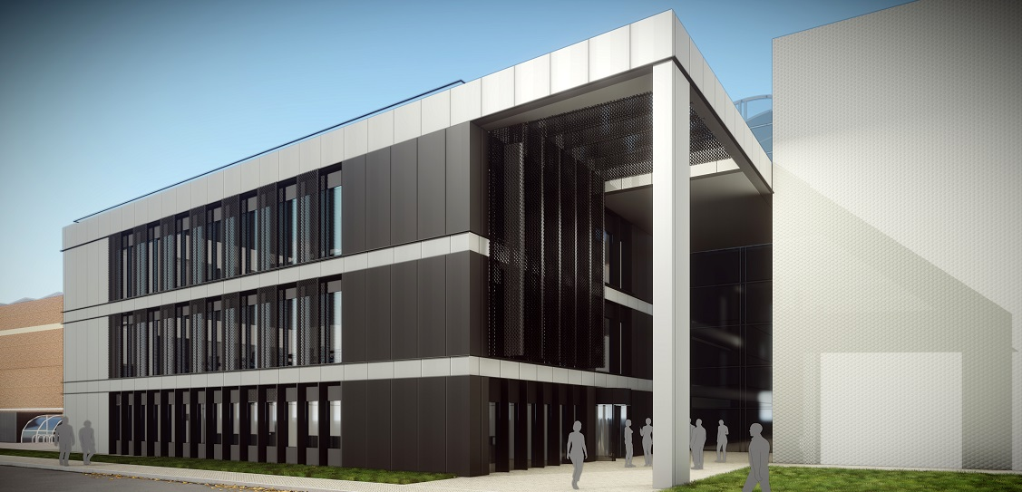 CPMG Architects designed the Water Sciences Building at Cranfield University. Picture: CPMG Architects