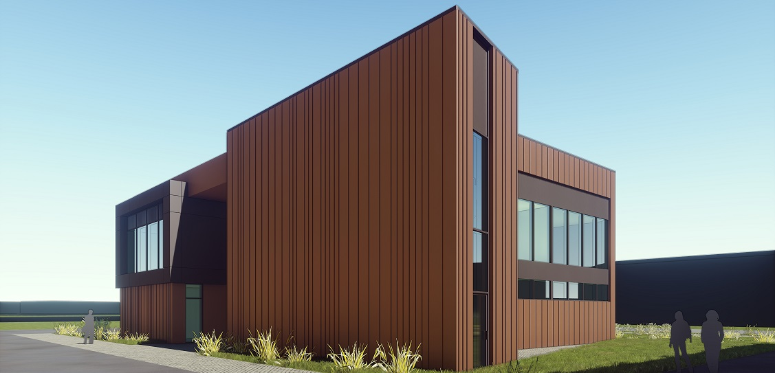 CPMG Architects designed the Agri-Informatics Facility at Cranfield University. Picture: CPMG Architects